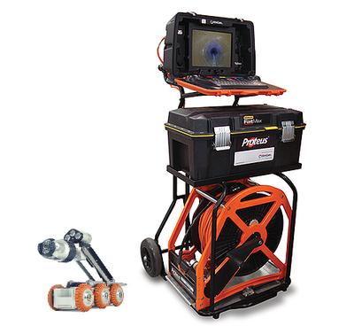 Mini-Cam Proteus, tractorsysteem